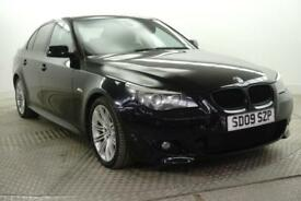 2009 BMW 5 Series 520D M SPORT BUSINESS EDITION Diesel black Automatic