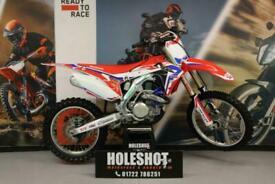 HONDA CRF 450 2016 MOTOCROSS BIKE BLUE AS3 RAD HOSES