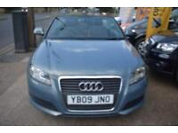 BAD CREDIT CAR FINANCE AVAILABLE 2009 09 AUDI A3 CABRIOLET 1.8TFSi AUTOMATIC