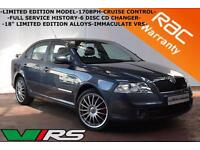 2009 Skoda Octavia 2.0TDI CR 170bhp VRS LIMITED EDITION-FULL HISTORY-LEATHER-