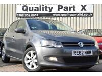 2012 Volkswagen Polo 1.4 Match DSG 5dr
