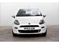 2014 Fiat Punto EASY Petrol white Manual