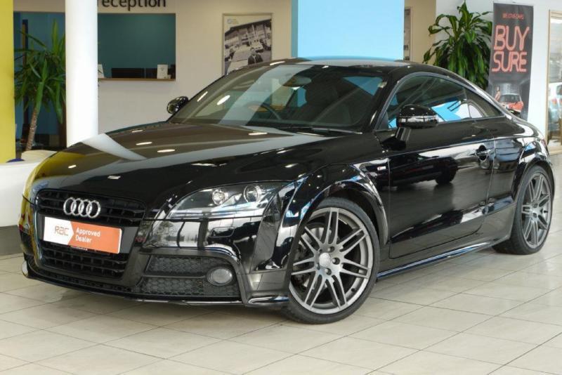 2012 Audi Tt 2 0 Tfsi Black Edition S Tronic 3dr In