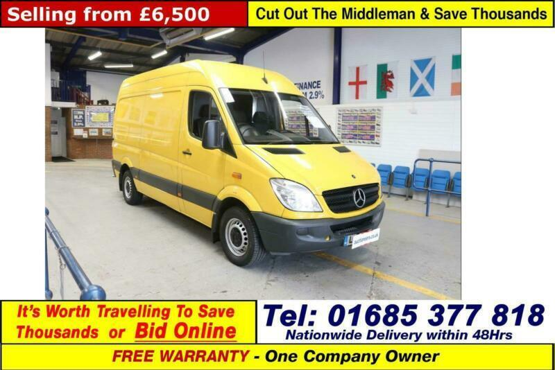 4c1ef3aaae 2013 - 13 - MERCEDES SPRINTER 313 2.2CDI MWB HI TOP VAN (GUIDE PRICE)