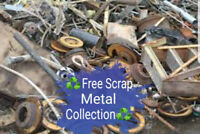 Looking to drop off or arrange pick up for Scrap