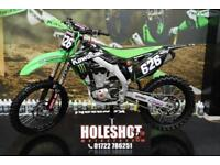 2013 KAWASAKI KXF 450 MOTOCROSS BIKE, RENTHAL BARS, NEW REAR TYRE