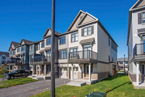 Brand New 2 Bedroom End Unit Avenue Town in Barrhaven