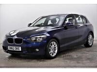 2012 BMW 1 Series 116D EFFICIENTDYNAMICS Diesel blue Manual