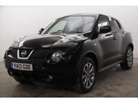2013 Nissan Juke TEKNA DIG-T Petrol black Manual