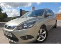 FORD FOCUS ZETEC 1.6 16V 5 DOOR*LOW MILEAGE*12 MONTHS MOT*LADY OWNED*AIR CON*