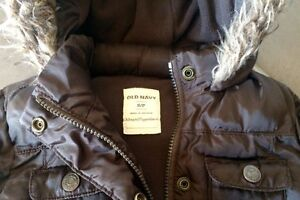 Old navy puffy winter jacket