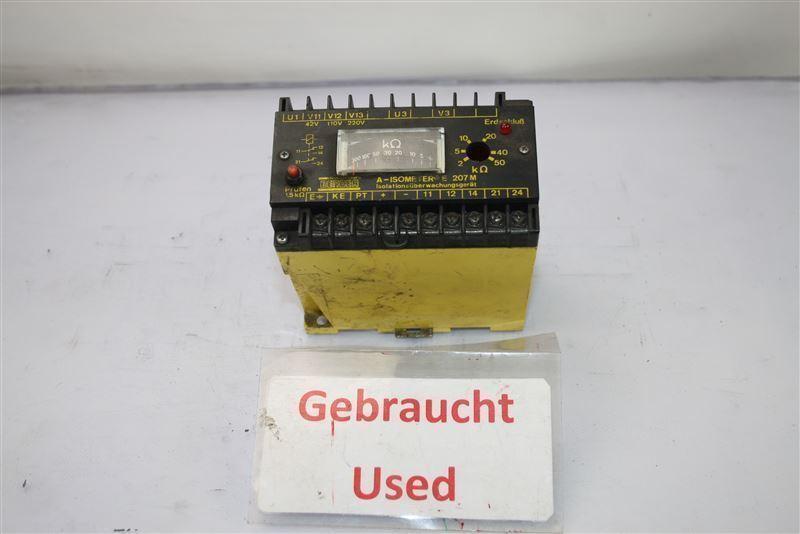 Bender E 207M Isolationsüberwachungsgerät Erdschlussüberwachungsgerät e207m