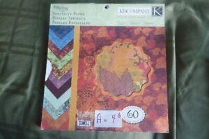 Scrapbooking 12x12 paper pads / beaux papiers