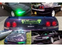 R33 Skyline 2.5 straight six na jap jdm turbo modified type r import