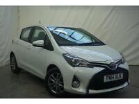 2014 Toyota Yaris VVT-I ICON Petrol white Manual