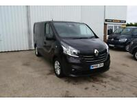2016 Renault Trafic 1.6 dCi SL27 Sport Low Roof Van 5dr Diesel black Manual