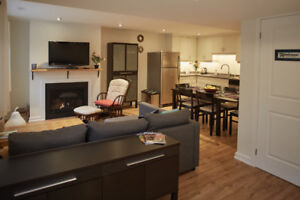 Furnished 2 Bedroom Apartment in Dundas, 10 min to McMaster U