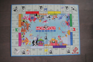 Monopoly Junior Board Game Replacement Game Board Only
