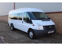 2011 Ford Transit 100 T430 17S RWD 16 SEATER MINI BUS LOW MILES