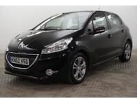 2012 Peugeot 208 ACTIVE Petrol black Manual