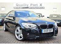 2014 BMW 1 Series 2.0 120d M Sport Sports Hatch 3dr (start/stop)