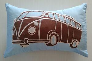 Coussin décoratif collection Combi Vans de Maholi KIDS