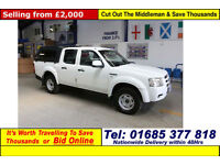 2006 - 56 - FORD RANGER 2.5TDCI 4X4 DOUBLE CAB PICK UP C/W ARB TOP (GUIDE PRICE)