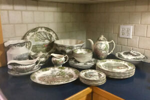 Johnson Brothers China - Friendly Village and Accessories