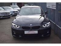 2015 BMW 4 Series 420 xDrive Coupe 2.0d 190 SS M Sport Auto8 Diesel black Automa