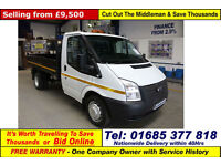 2014 - 63 - FORD TRANSIT T350 2.2TDCI 100PS RWD SINGLE CAB TIPPER (GUIDE PRICE)