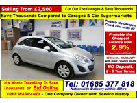 2011 - 11 - VAUXHALL CORSA 1.2 EXCLUSIV 3 DOOR HATCHBACK (GUIDE PRICE)