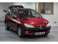 2003 Peugeot 206 1.4 LX 3dr (electric sunroof)