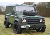 Land Rover Defender 110 Ex MOD 200 TDI Hard Top