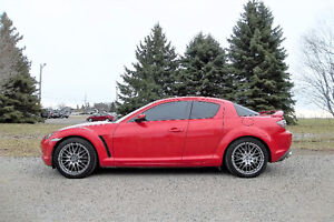 2005 Mazda RX-8 Sports Coupe- 6 Speed & 126K!!  4 NEW TIRES!!