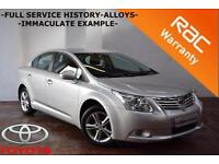 Toyota Avensis 2.0D-4D 2011 T2 -FULL SERVICE HISTORY-IMMACULATE EXAMPLE-