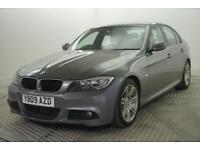 2009 BMW 3 Series 320D M SPORT Diesel grey Automatic