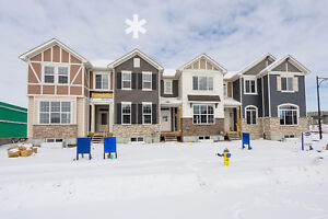1,362 Sq.ft Modern Townhome in Creekwood, No Condo Fees...!!!