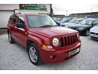 Jeep Patriot 2.0CRD Sport RED 2007 + BEAUTIFUL EXAMPLE THOUGHOUT+