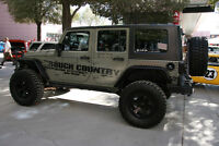 ROUGH COUNTRY LIFT KITS, RIMS, LEVELING KITS AND TIRES