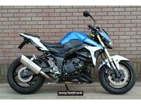 SUZUKI GSR 750 2013 13 - BLUE/WHITE - NATIONWIDE DELIVERY -VIDEO TOURS AVAILABLE