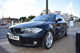 BAD CREDIT CAR FINANCE AVAILABLE 2008 58 BMW 118d M SPORT 3 DOOR