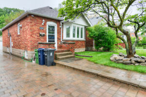 Newly Renovated - 2b/1w unit - East York