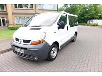 SOLD 2005 Renault Trafic 1.9 dci 9 seater left hand drive lhd Spanish Registered