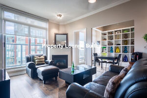 **FULLY FURNISHED ALL INCLUSIVE SUITE **HEART OF YALETOWN**