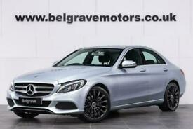 """image for 2018 Mercedes-Benz C220 D C220D SPORT 19"""" AMG LINE ALLOYS HEATED LEATHER 4D"""