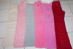 GIRLS SIZE 10 12 14 PANTS GYMBOREE, GAP, TCP *** LIKE NEW ***
