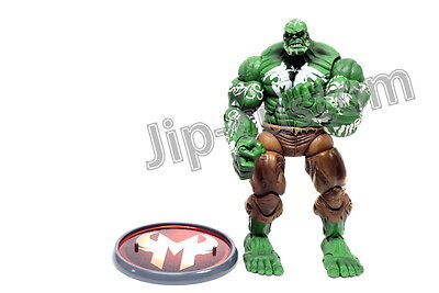 """Toy Biz / Marvel Legends House of M Hulk 6"""" Action Figure (With Original Stand)"""