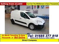 Used Peugeot PARTNER [Car-fuel-type] Vans for Sale in Wales