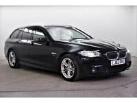 2013 BMW 5 Series 520D M SPORT TOURING Diesel black Automatic
