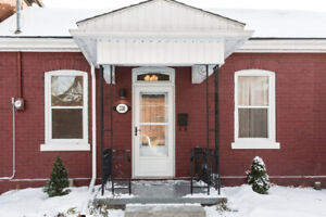 Beautiful 2 bdrm house with large fenced yard, available now
